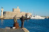 fort lighthouse st nicholas agios nikolaus