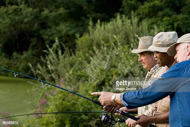 Men fishing