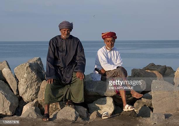 Men from Masirah island, Oman December 19,2009.