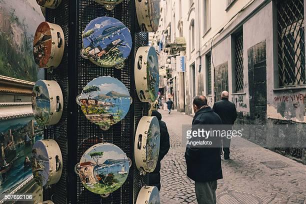 男性には、通りのネイプルズ、カンパニア、イタリア