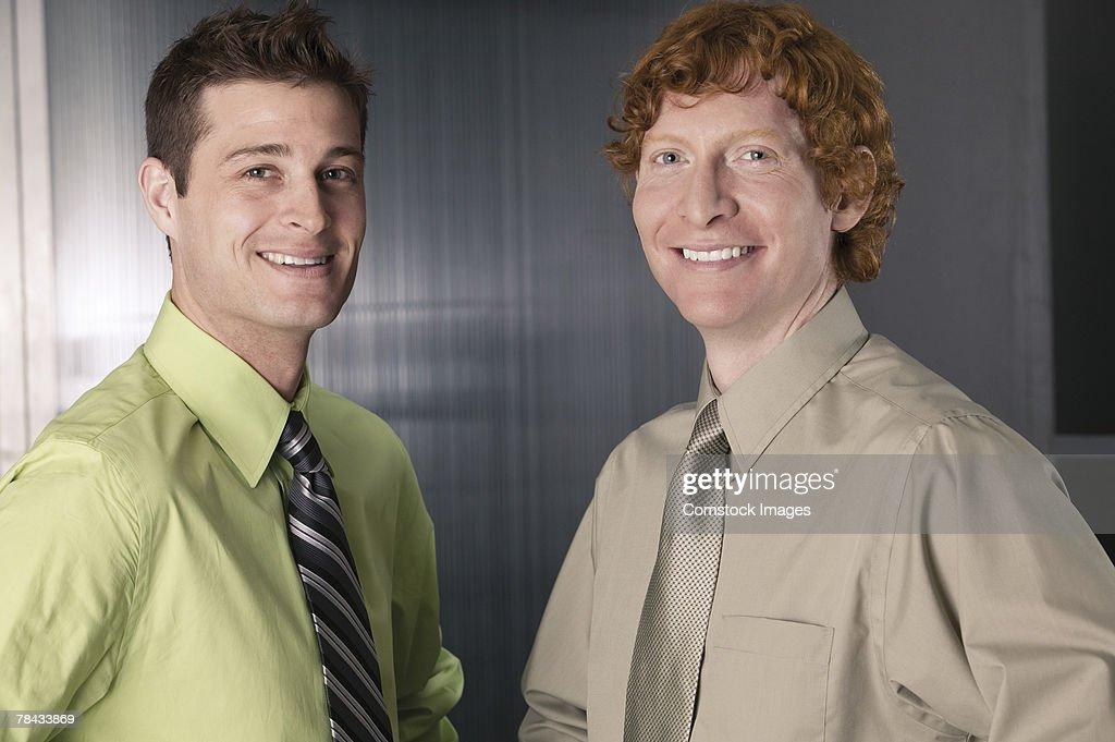 Men in business attire : Stockfoto