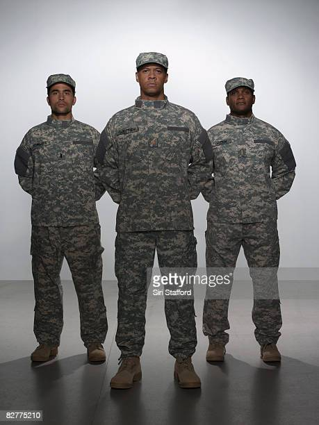 men in military uniform - army soldier stock photos and pictures