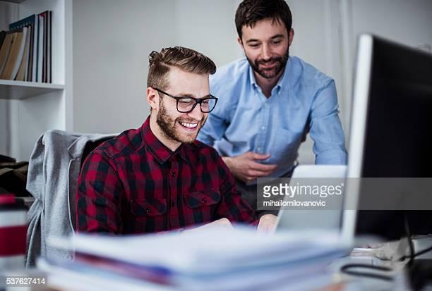 Men in the office
