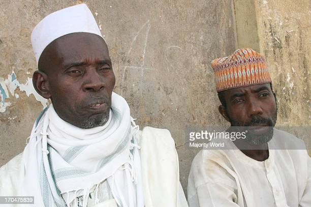 Men living in Shinkafi a town in Zamfara state in northern Nigeria Most of the people who live her are poor living below US$1 a day Hausa is spoken...