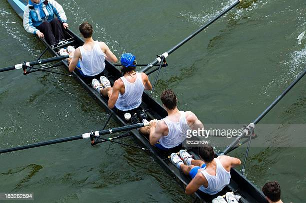 Hombres 8-Man Rowing