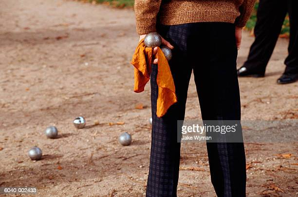 Men Playing Boules