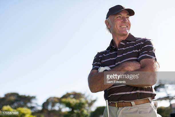 men playing golf - golfer stock pictures, royalty-free photos & images