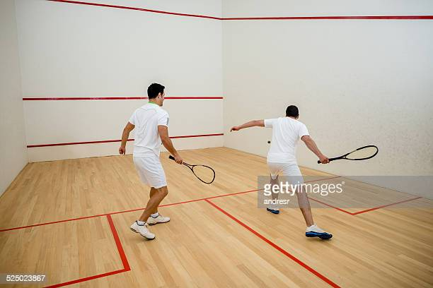 men playing squash - squash sport stock pictures, royalty-free photos & images