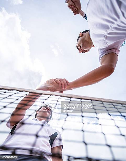 men playing tennis - sportsperson stock pictures, royalty-free photos & images