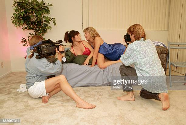 Men Shooting a Porn Movie