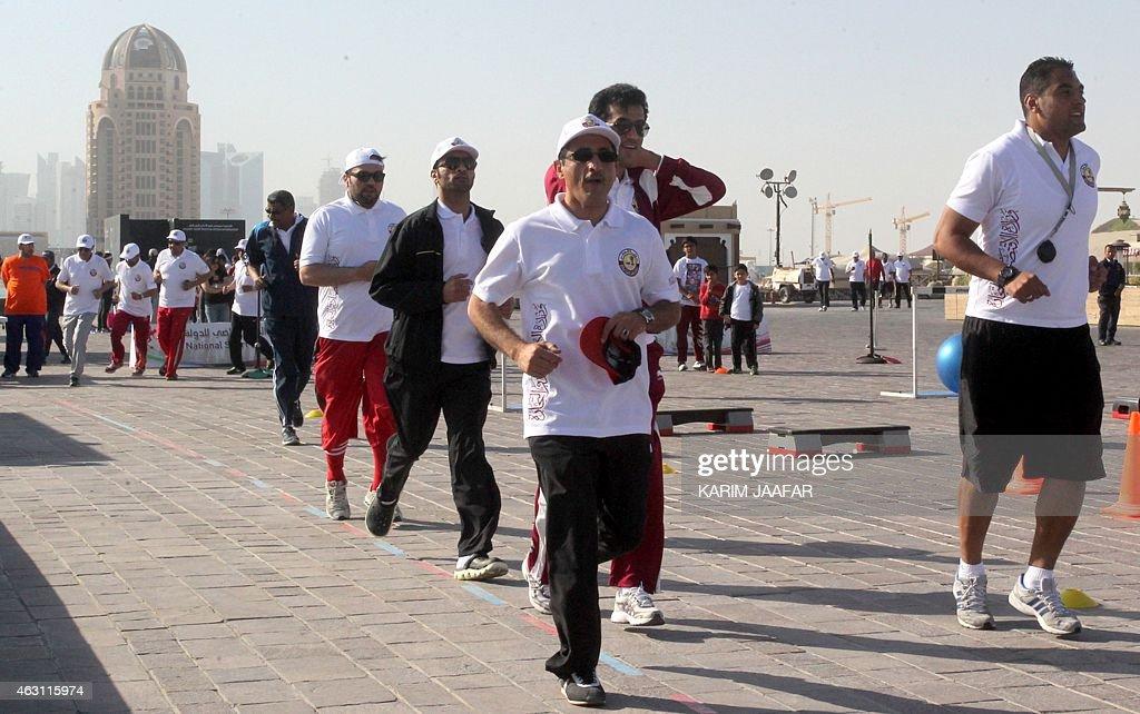 QATAR-HEALTH-LIFESTYLE-OBESITY : News Photo