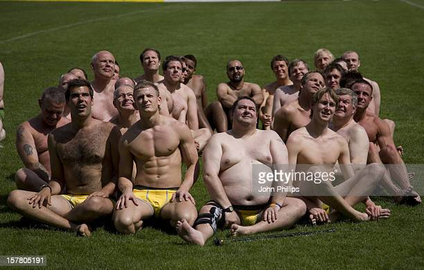 146 Men Take Part In World Record Attempt Of The Largest Gathering Of People In Pants In Association With Glossy Mag Cosmopolitan Ted Baker And...