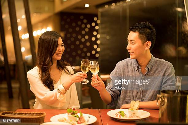 Men to toast lover and restaurant