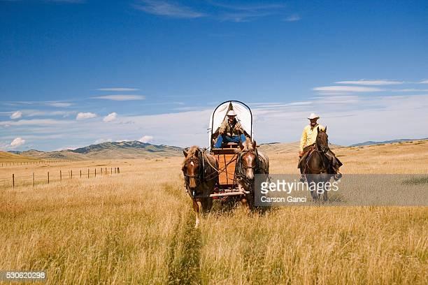 Men Traveling by Horseback