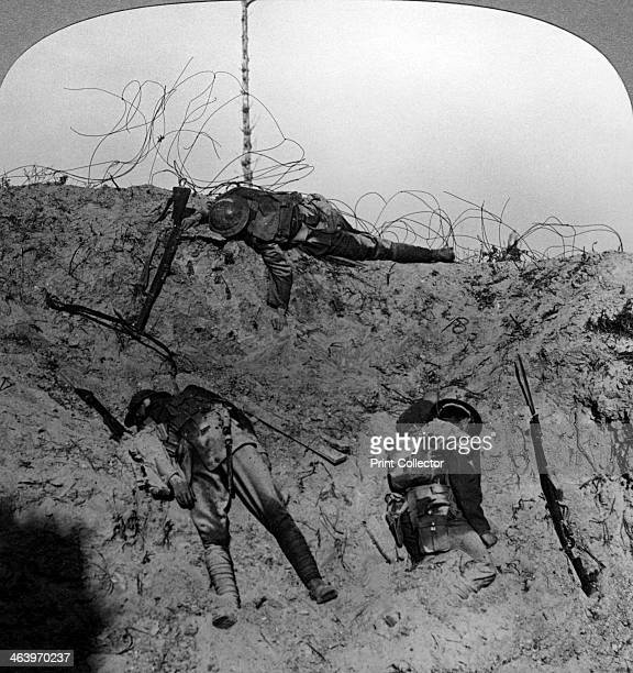 Men who fell contesting the mine crater Zouave Woods Hooge Belgium World War I 19141918 Hooge a small village near Ypres was the scene of fierce...