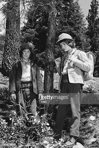 "Men Will Be Boys"" Episode 10 -- Aired 11/13/78 -- Pictured: Matthew Laborteaux as Albert Quinn Ingalls, Patrick Labyorteaux as Andrew 'Andy' Garvey..."