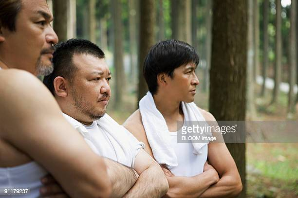 Men with arms folded, portrait