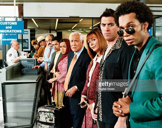 Men With Drugs at Airport Security