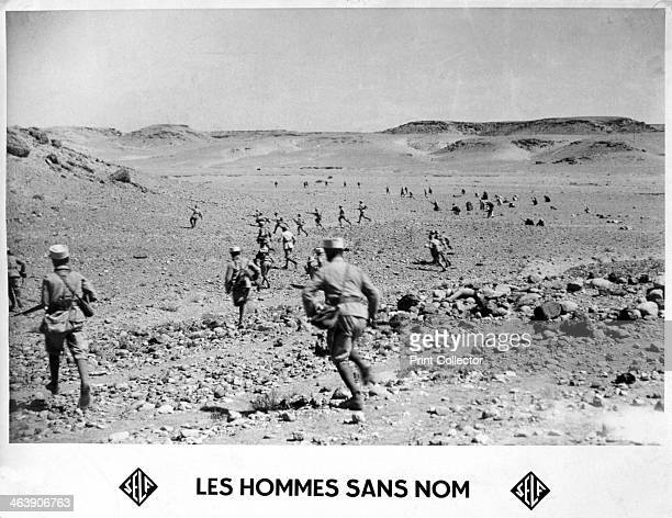 'Men without Name' 20th century Soldiers of the French Foreign Legion on patrol in the desert The French Foreign Legion was established in 1831 as an...