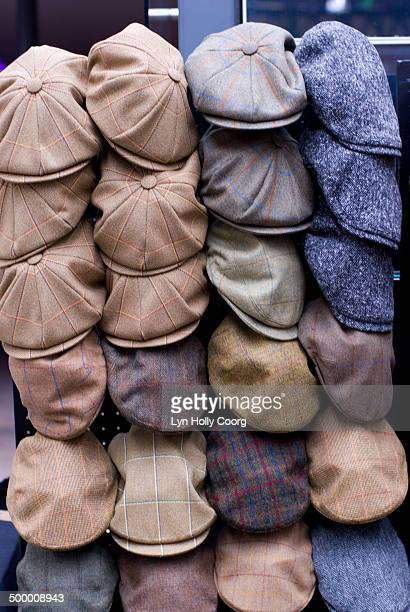 men woolen caps on display for sale - lyn holly coorg stock pictures, royalty-free photos & images