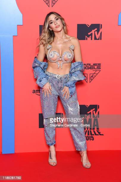 Mena attends the MTV EMAs 2019 at FIBES Conference and Exhibition Centre on November 03 2019 in Seville Spain