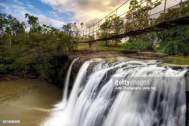 Mena Creek Falls Near Innisfail, Far North Queensland, Australia
