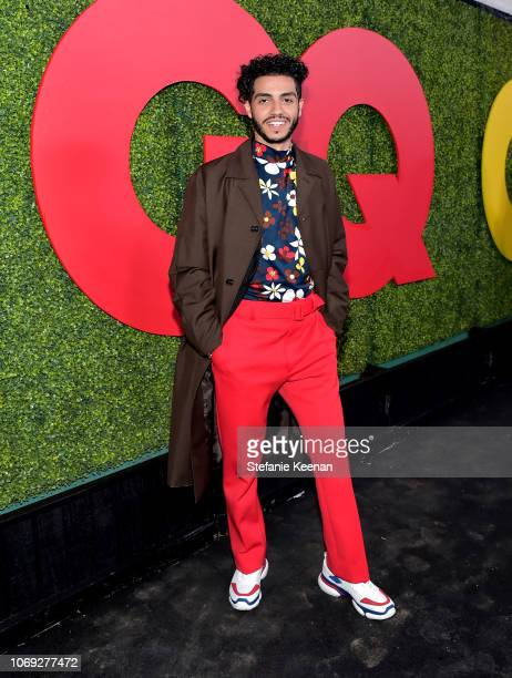 Mena Massoud attends the 2018 GQ Men of the Year Party at a private residence on December 6 2018 in Beverly Hills California
