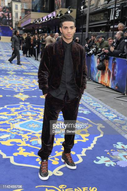 Mena Massoud attends the European Gala screening of Aladdin at Odeon Luxe Leicester Square on May 9 2019 in London England