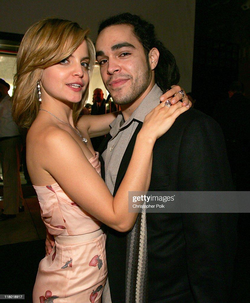 Mena Suvari and Mike Carrasco during Suzanne Felsen Cocktail Party and Store Opening Hosted by Mena Suvari - November 16, 2005 at 8332 Melrose Ave in Los Angeles, California, United States.