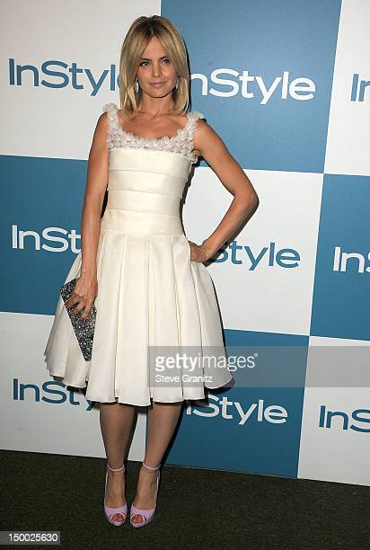 Mena Suvari arrives at the 11th Annual InStyle Summer Soiree at The London Hotel on August 8 2012 in West Hollywood California