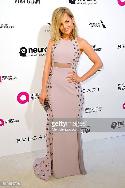 Mena Suvari arrives at the 24th Annual Elton John AIDS Foundation's Oscar Viewing Party on February 28 2016 in West Hollywood California