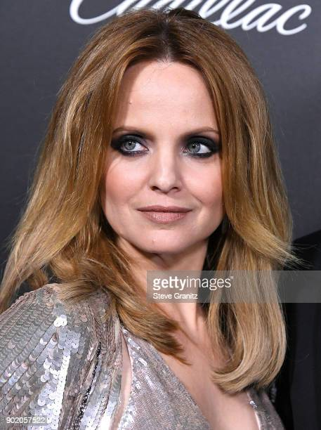 Mena Suvari arrives at the The Art Of Elysium's 11th Annual Celebration Heaven on January 6 2018 in Santa Monica California