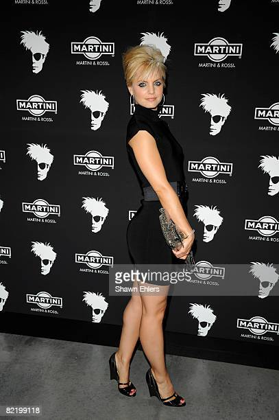 Mena Suvari attends Andy Warhol's 80th birthday celebration at the New Museum on August 6 2008 in New York City