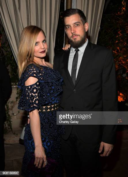 Mena Suvari attends Entertainment Weekly's Screen Actors Guild Award Nominees Celebration sponsored by Maybelline New York at Chateau Marmont on...