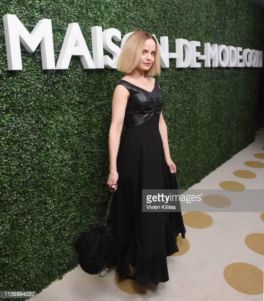 Mena Suvari attends MAISONDEMODECOM Sustainable Style Gala at Sunset Tower on February 23 2019 in Los Angeles California
