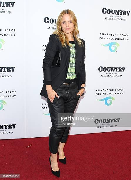 Mena Suvari attends the Annenberg Space for Photography Opening Celebration for 'Country Portraits of an American Sound' at the Annenberg Space for...