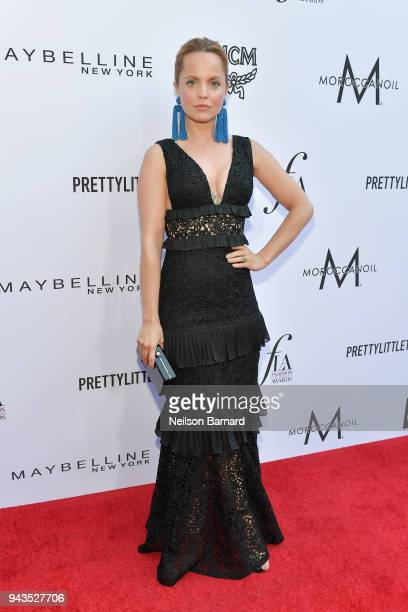 Mena Suvari attends The Daily Front Row's 4th Annual Fashion Los Angeles Awards at Beverly Hills Hotel on April 8 2018 in Beverly Hills California