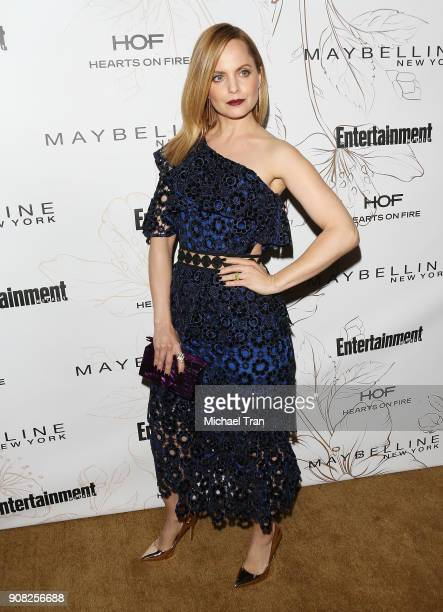 Mena Suvari attends the Entertainment Weekly hosts celebration honoring nominees for The Screen Actors Guild Awards held on January 20 2018 in Los...