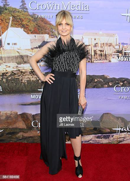 Mena Suvari attends the Hallmark Channel and Hallmark Movies and Mysteries Summer 2016 TCA press tour event on July 27 2016 in Beverly Hills...