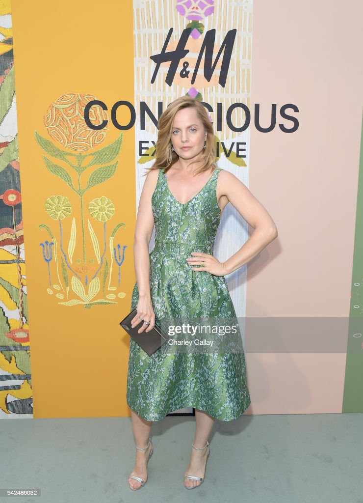 Mena Suvari attends the H&M celebration of 2018 Conscious Exclusive collection at John Lautner's Harvey House on April 5, 2018 in Los Angeles, California.