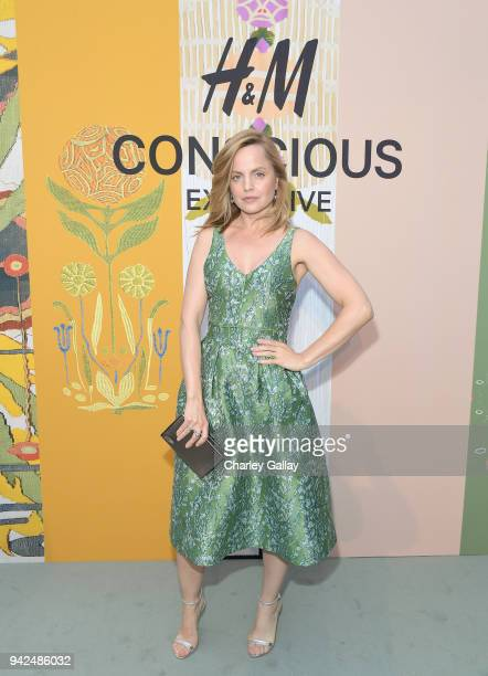 Mena Suvari attends the HM celebration of 2018 Conscious Exclusive collection at John Lautner's Harvey House on April 5 2018 in Los Angeles California