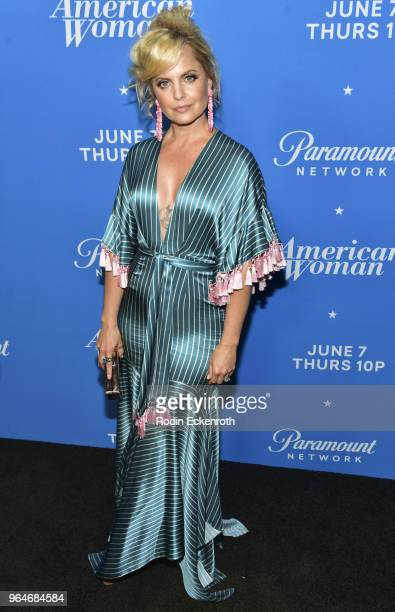 Mena Suvari attends the premiere of Paramount Network's American Woman at Chateau Marmont on May 31 2018 in Los Angeles California