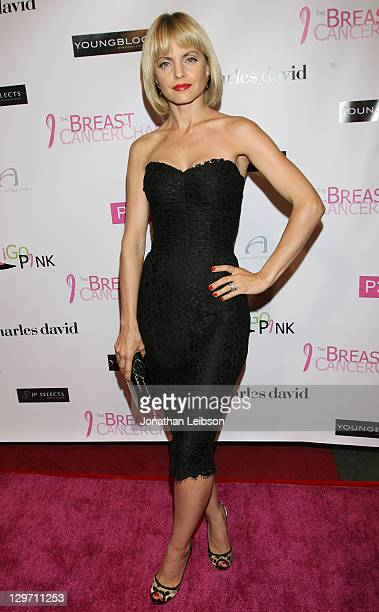 Mena Suvari attends the The Breast Cancer Charities Of America 2 Annual Fashion Show Fundraiser Hosted By Tiffany Hines at SupperClub Los Angeles on...