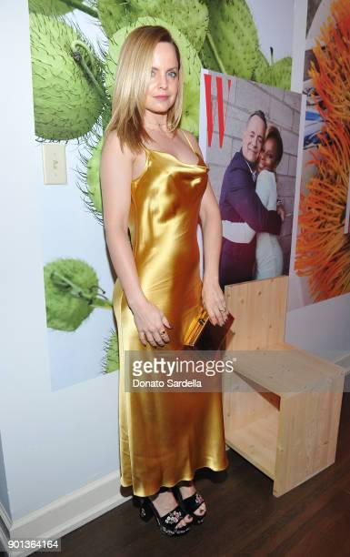 Mena Suvari attends W Magazine's Celebration of its 'Best Performances' Portfolio and the Golden Globes with Audi Dior and Dom Perignon at Chateau...
