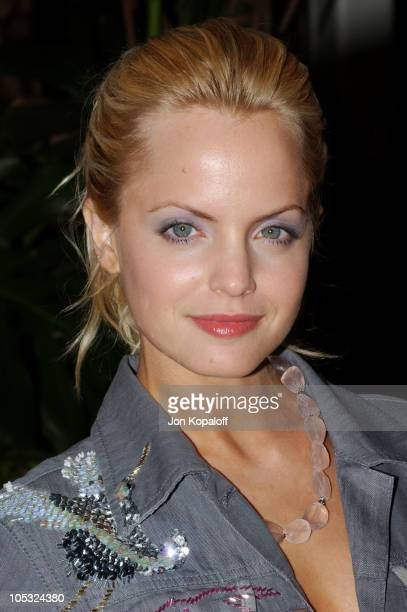 Mena Suvari during 2004 Crest Whitestrips Style Awards Arrivals at The Beverly Hills Hotel in Beverly Hills California United States