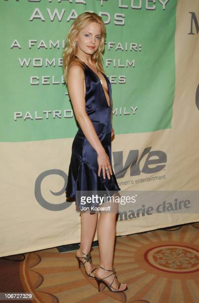 Mena Suvari during 2004 Crystal Lucy Awards Women in Film Celebrates the Paltrow Family Arrivals at The Westin Century Plaza Hotel in Century City...