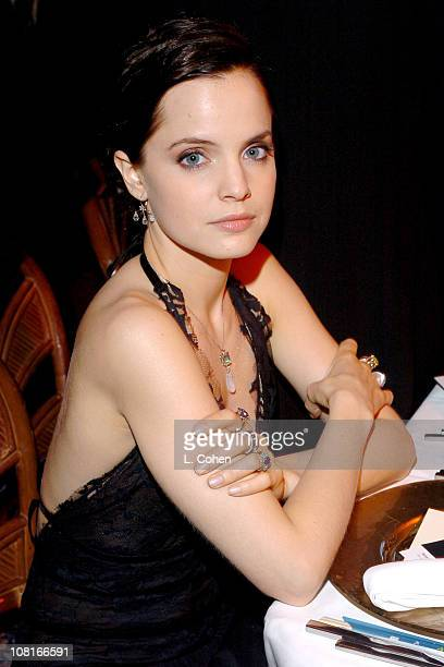 Mena Suvari during 2005 Glamour/Miramax Golden Globes Party Inside at Beverly Hilton Hotel in Los Angeles California United States