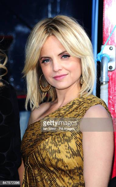 Mena Suvari during a photocall to promote her new film American PieReunion