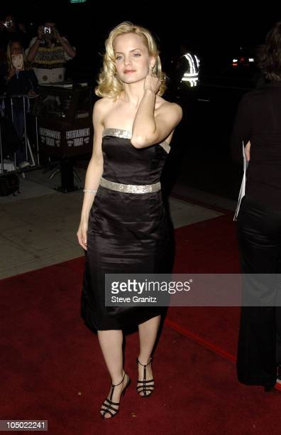 Mena Suvari during 'Chicago' Premiere in Los Angeles at The Academy in Beverly Hills California United States