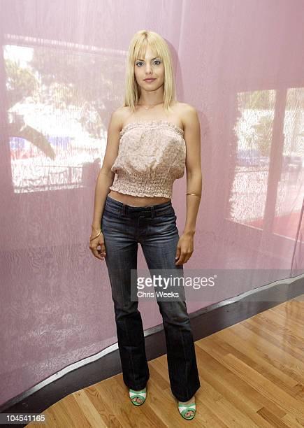 Mena Suvari during Fred Segal Beauty Salon Spa Launch Day Two at Fred Segal Beauty Salon Spa in Santa Monica California United States